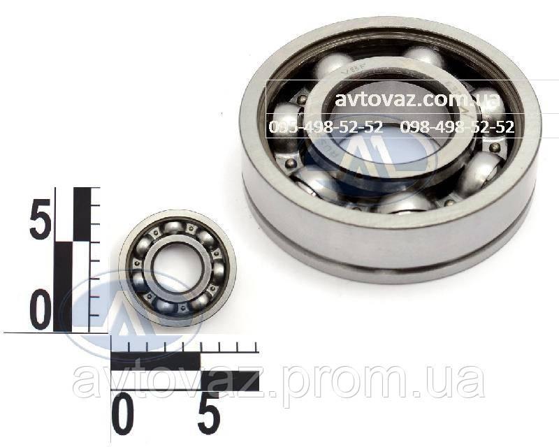 Подшипник КПП ВАЗ 2108-15, 1118 Калина вал первичный и вторичный, задняя опора (6-50305) 23 ГПЗ