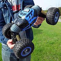 Трюковый BigFoot Rock Crawler на р/у, 41 см, UD2170A   Масштаб 1:12   Синего цвета, фото 1