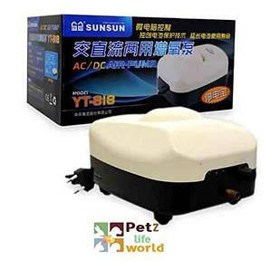 Компрессор на аккумуляторе SunSun YT-818, 20л/мин