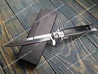 Нож стилет полуавтомат MaFia77 Stilleto Black. Фирменный нож стилет