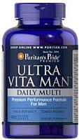 Витамины для мужчин Puritan's Pride Ultra Vita Min Daily Multi Timed Release 90 капс.