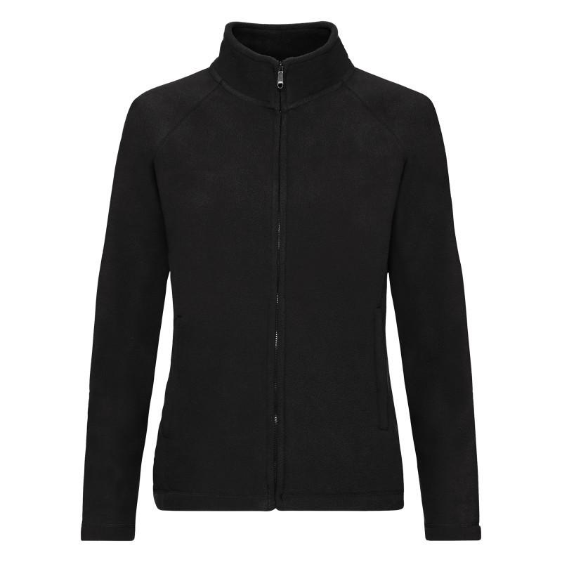 Женский флис Lady Fit Full Zip Fleece (Цвет: Чёрный; Размер: 2XL)