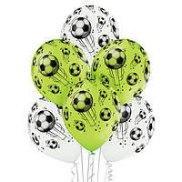Шар гелиевый футбольные мячи