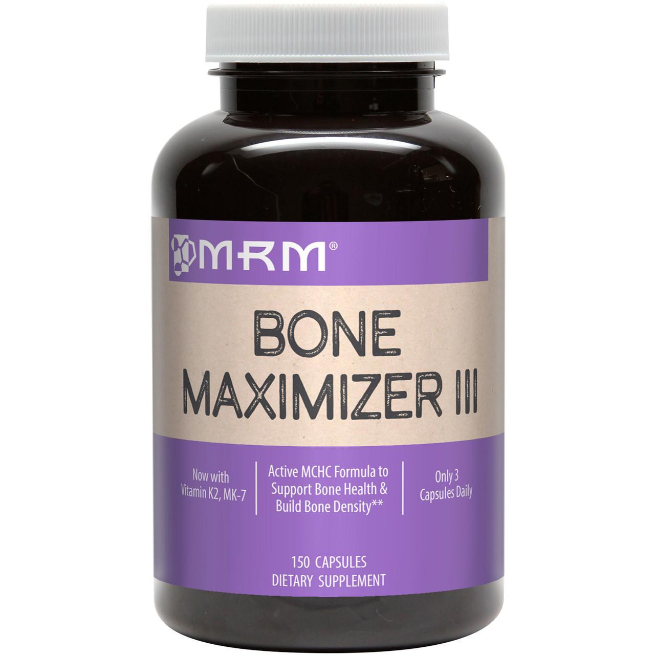 MRM, Bone Maximizer III (крепкие кости), 150 капсул