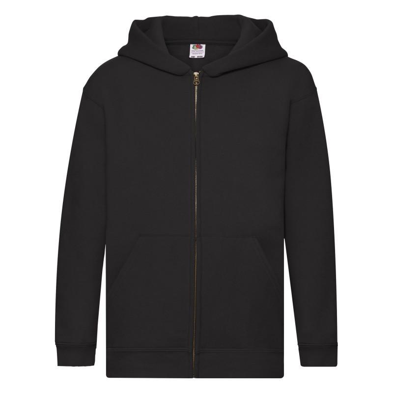 Дитяча толстовка Kids Hooded Sweat Jacket (Колір: Чорний; Розмір: 12-13)
