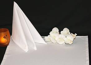 Салфетка 45 х 45 ткань Ричард гладь , Белый.