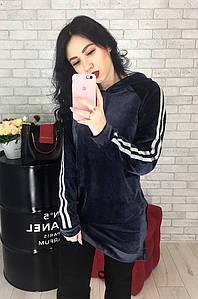 Туника женская фиолетовая 2217