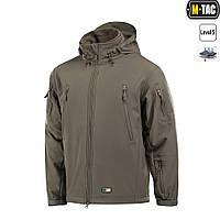 M-Tac куртка SOFT SHELL С ПОДСТЕЖКОЙ OLIVE, фото 1