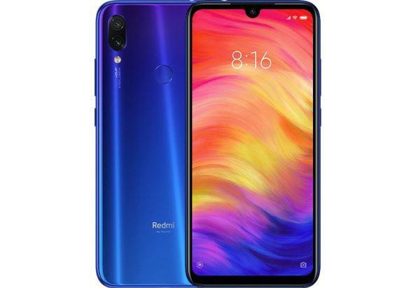 Смартфон с двойной камерой 48+5Мп и мощной батареей с большим экраном 4/64Gb Xiaomi Redmi Note 7 синий