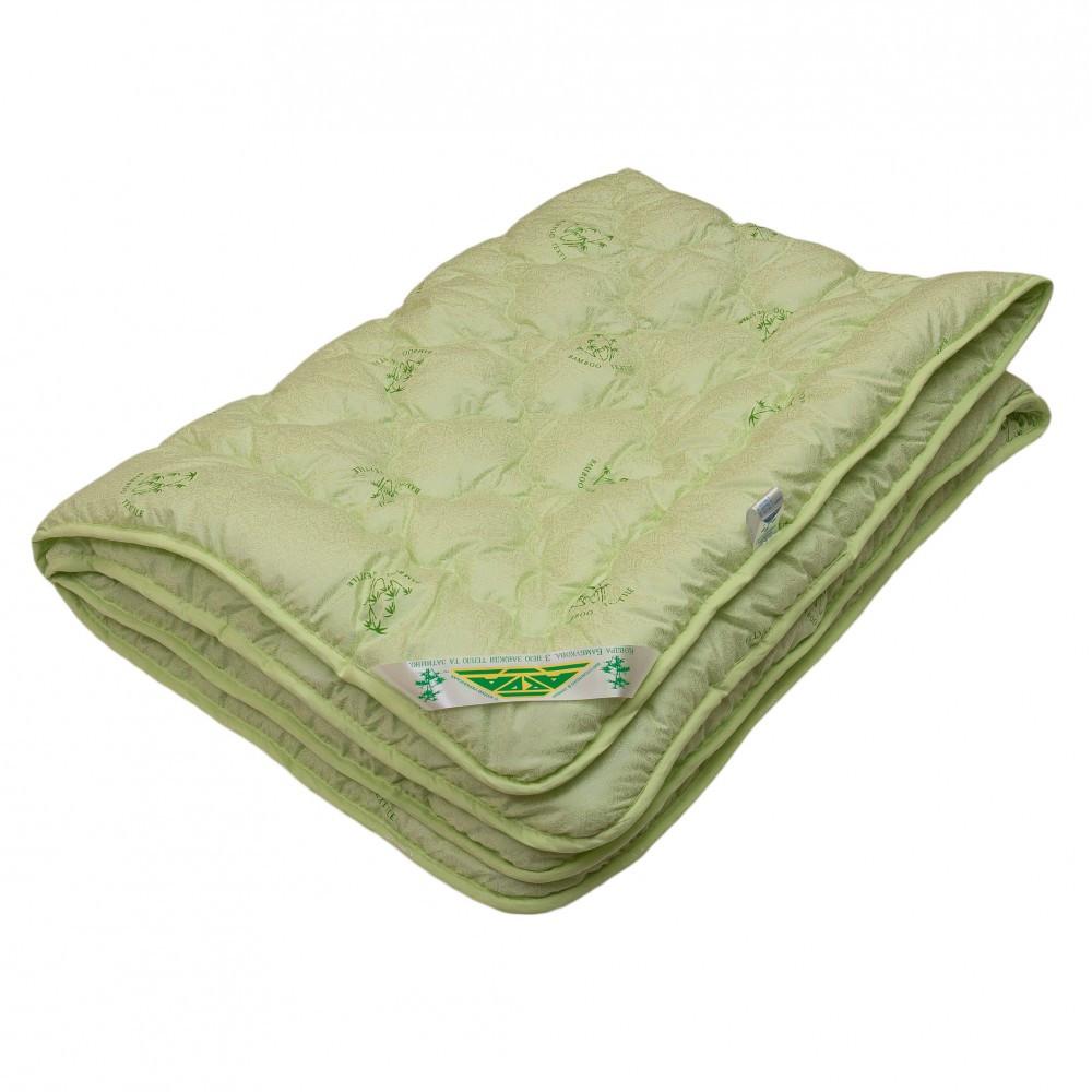 Одеяло «BAMBOO» 150 на 210 см Зеленый