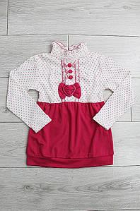 Платье детское розовое 2858-1