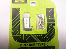 Перехідник Remax mcro USB Type-C RA-OTG1