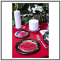 Тарелки Capital For People пластиковые термостойкие для пикника, туризма, полная сервировка стола 6 шт 155 мм, фото 1