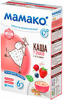Молочная каша MAMAKO 7 злаков с ягодами на козьем молоке 200 г , 1105418