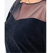 / Размер 50,52,54,56 / Женское нежное и изысканное платье / 19-30-Синий, фото 4
