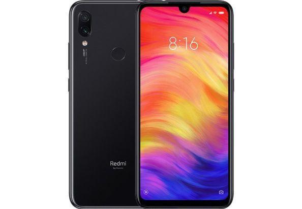 Смартфон с двойной камерой 48+5Мп и мощной батареей с большим экраном 4/128Gb Xiaomi Redmi Note 7 черный