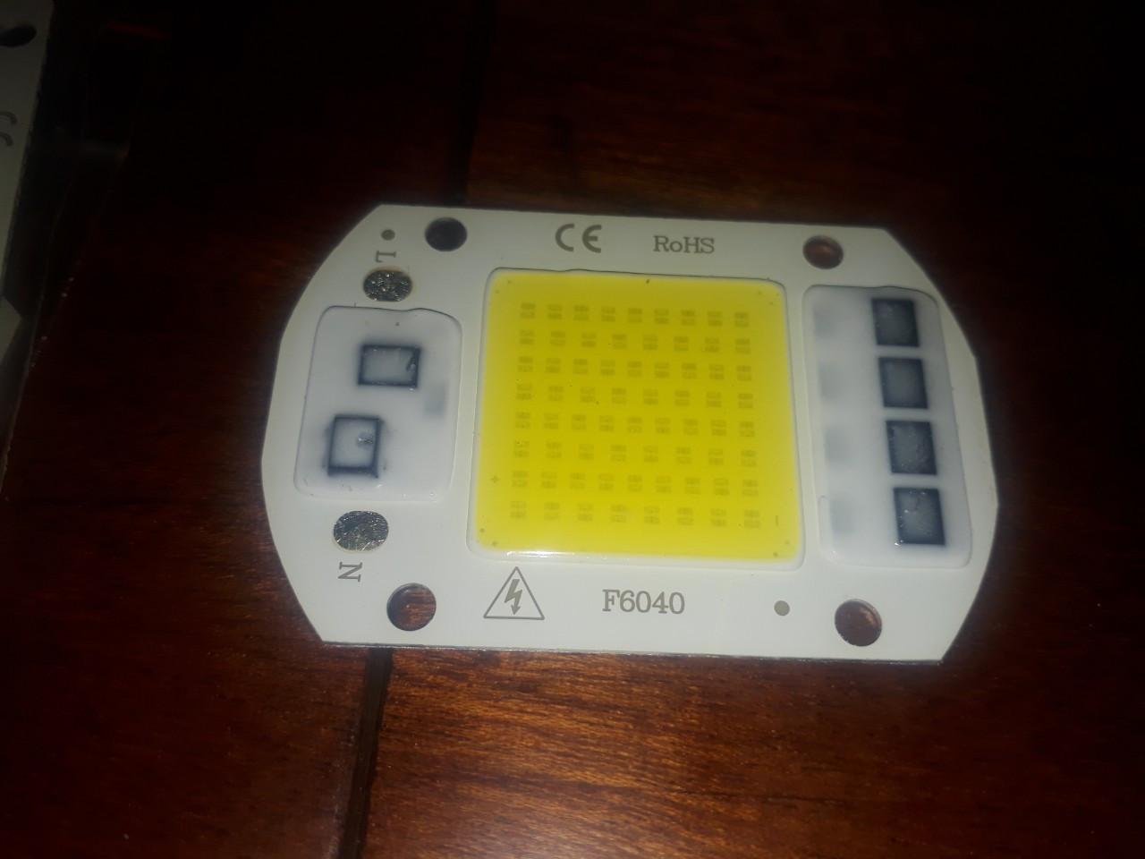 Smart IC LED 50w 220V 1mm. Светодиод 50 ватт 220 вольт светодиодная матрица 50w с драйвером на борту