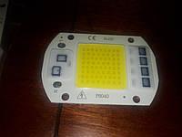 Smart IC LED 50w 220V 1mm. Светодиод 50 ватт 220 вольт светодиодная матрица 50w с драйвером на борту, фото 1