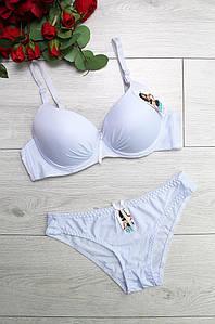 Комплект женский белый L9350-4