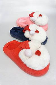 Тапочки женский дед мороз 36-41