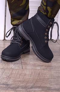 Ботинки женские черные D3794-1