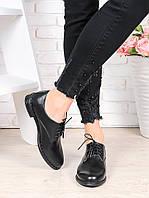 Туфли натуральная кожа шнурки 6360-28, фото 1
