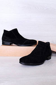Ботинки мужские черные 6017