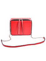 Клатч кожаный красный 7086-11, фото 1