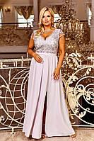 Женское вечернее платье в пол больших размеров 48-54