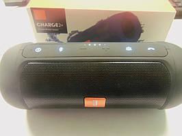 Портативна колонка JBL Charge 2+ E2+ копія, Bluetooth колонка з FM MP3, чорна