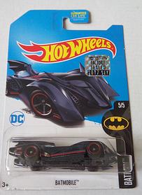 Коллекционная машинка Хот Вилс Batmobile