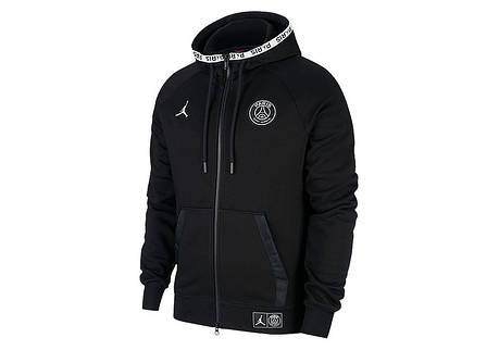 SAINT NIKE GERMAIN BLACK FLEECE PARIS JORDAN PSG HOODIE AIR