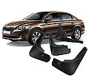 Брызговики MGC Peugeot 301 Пежо 2012-2020 г.в. комплект 4 шт 1607396780, 1607396880, фото 3