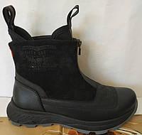 Levis neo! Зимние унисекс сапоги ботинки угги на змейке термо levi's неопреновый утеплитель, фото 1