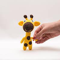 Жираф  Vikamade вязанные игрушки от Танюшки