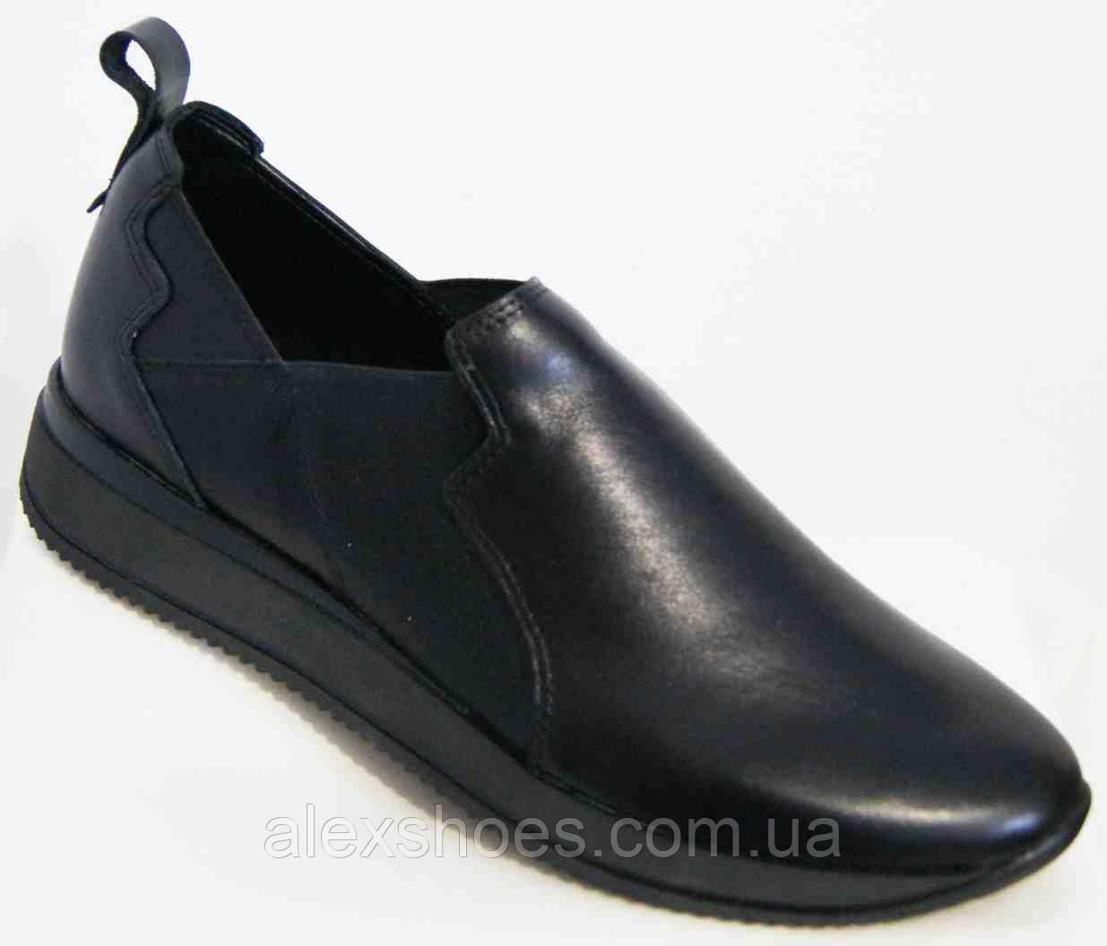 Туфли женские большого размера из натуральной кожи от производителя модель В5236-8