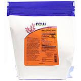 Мука из псиллиума (порошок из шелухи семян подорожника), 680г,  Now Foods, США, фото 2