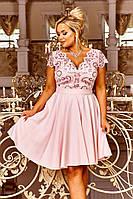 Нарядное вечернее молодёжное платье  больших размеров 48-54