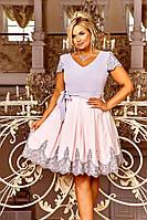 Вечернее молодёжное платье  больших размеров 48-54