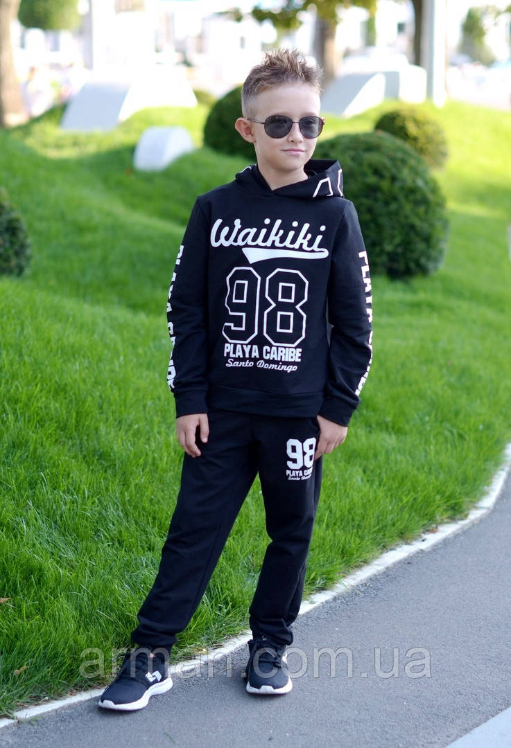 Детский спортивный костюм для мальчика. Р.122-146. Новый.
