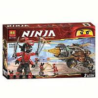 Конструктор Bela 11163 Ninja Ninjago Ниндзяго Земляной бур Коула (аналог Lego Ninjago 70669), 610 дет