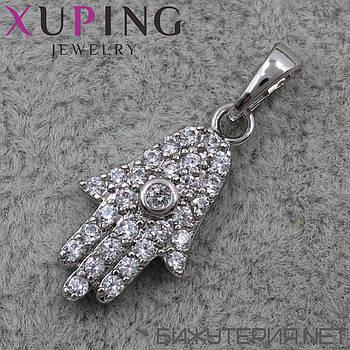 Кулон (подвеска) Xuping медицинское золото Silver - 1023628585