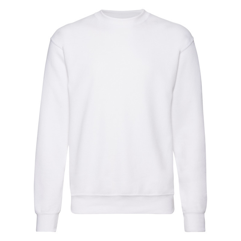 ТОЛСТОВКА CLASSIC SET-IN SWEAT  (Цвет: Белый; Размер: 2XL)