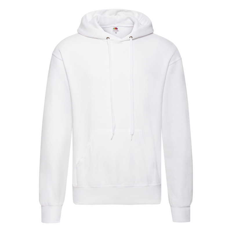 Мужская толстовка Hooded Sweat (Цвет: Белый; Размер: 2XL)