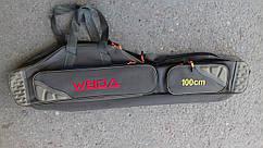 Большой вместительный чехол для удилищ weida 1m  на 2секции +2 боковой карман