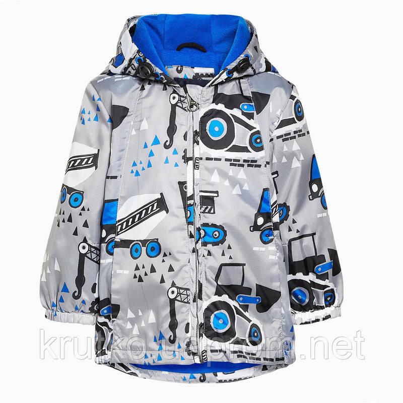 Куртка для мальчика Строительные машины Jumping Beans