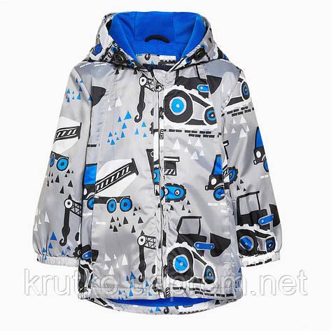 Куртка для мальчика Строительные машины Jumping Beans, фото 2