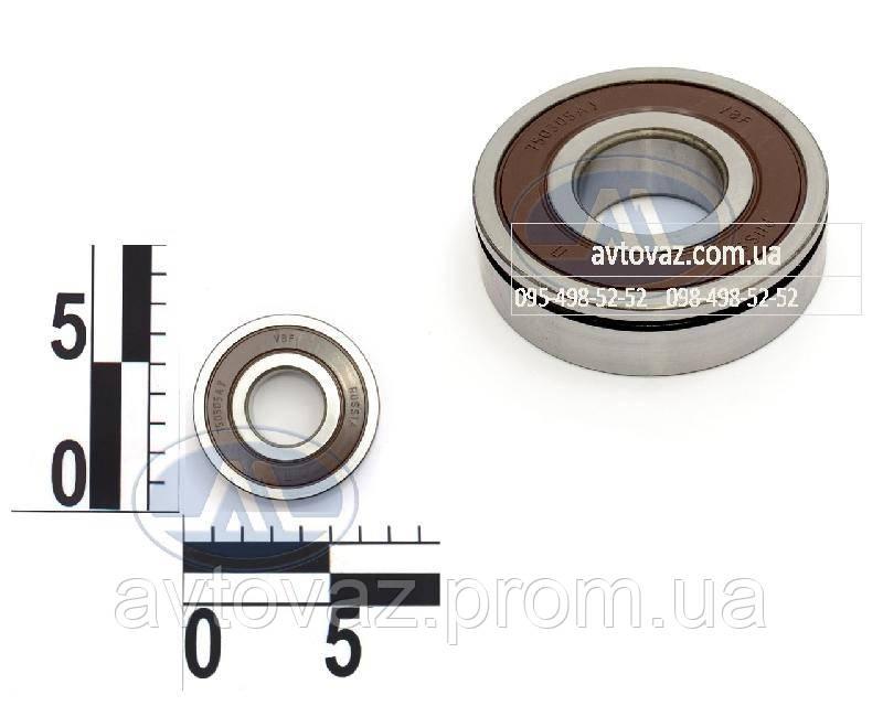 Подшипник КПП ВАЗ 2170-72 Приора вал первичный и вторичный, задняя опора (750305) усиленный 23 ГПЗ
