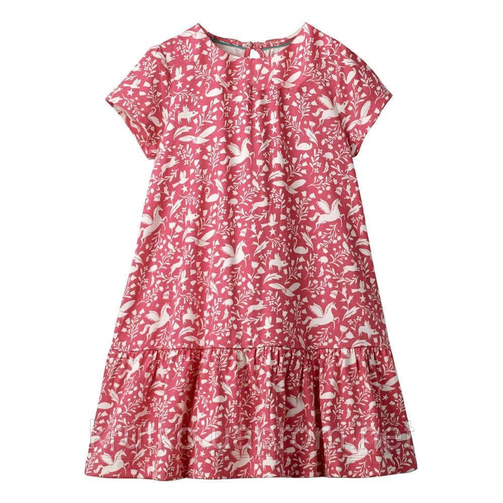 Платье для девочки Звери на поляне Jumping Meters (3 года)