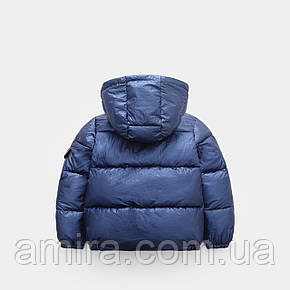 Куртка демисезонная для мальчика Глянец, синий Berni, фото 2